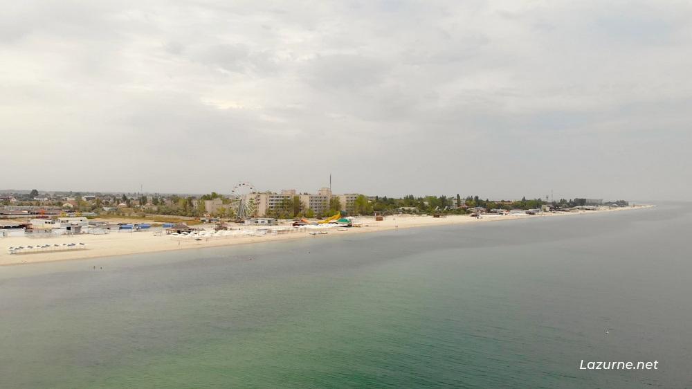 Лазурное Лазурне Херсонська область Україна Фото Море 1