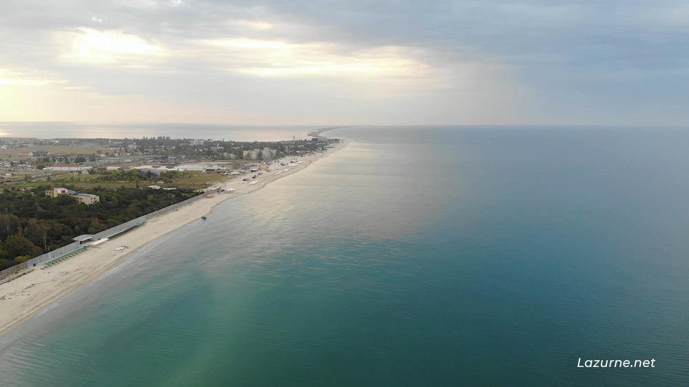 Лазурное Лазурне Херсонська область Україна Фото Море 10