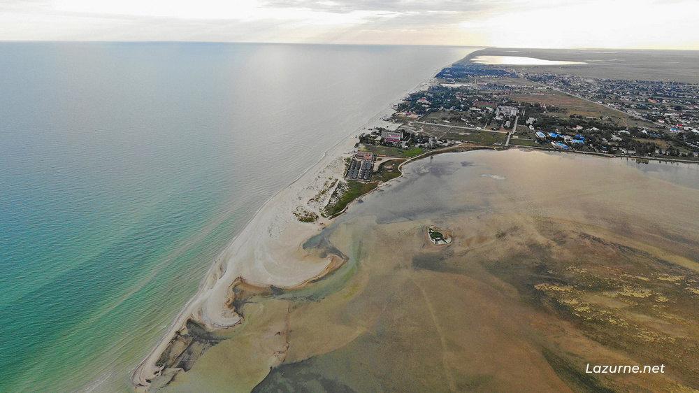 Лазурное Лазурне Херсонська область Україна Фото Море 11