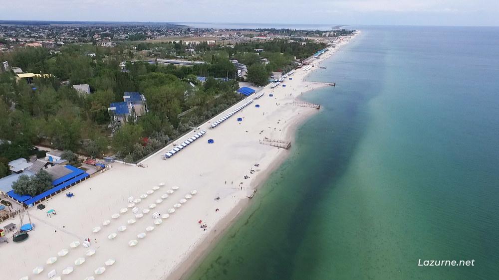 Лазурное Лазурне Херсонська область Україна Фото Море 4